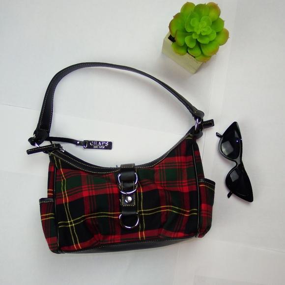 073fcd5d61 Chaps Handbags - Ralph Lauren Chaps Scottish Plaid Bag